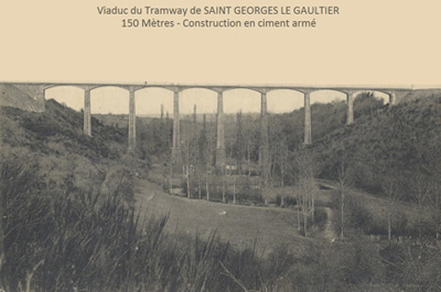 Viaduc Saint George le Gaultier