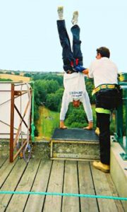 bungy depart equilibre