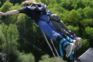 saut elastique le mans - elastique record