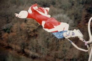 saut elastique pont - bluc elastique record